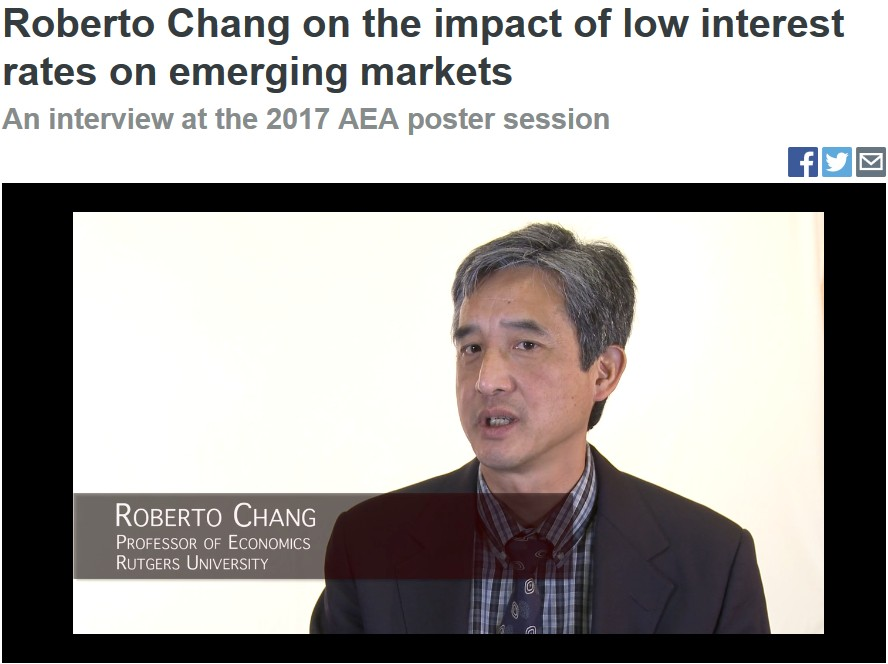 Roberto Chang AEA Interview