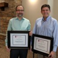 Two of the Department of Economics finest teachers were recognized