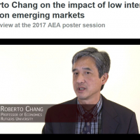 Roberto Chang on the impact of low interest rates on emerging markets
