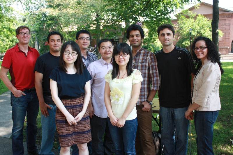 Graduate Students 2012 Group