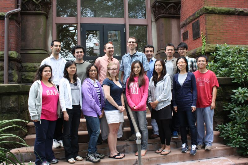 Graduate Students 2011 Group