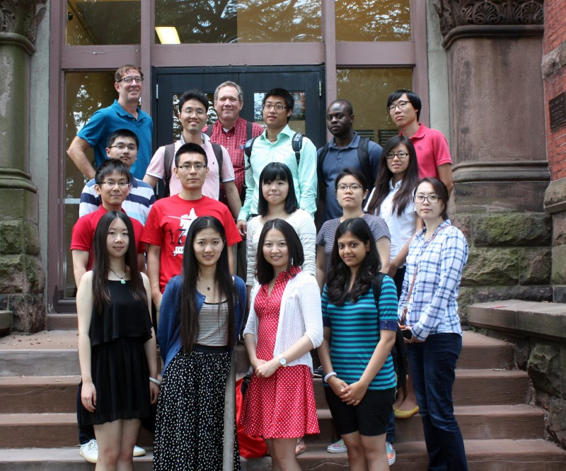 Graduate Students 2014 Group